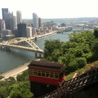 Photo taken at Duquesne Incline by Rex E. on 7/7/2012