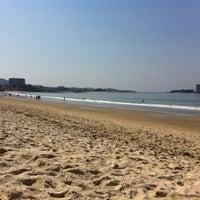 Photo taken at Praia de Samil by Jesus d. on 3/29/2012
