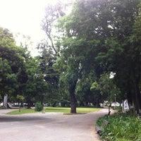 Photo taken at Jardim do Campo Grande by Daniel B. on 6/6/2012