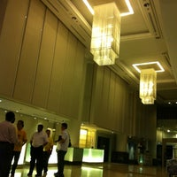 Photo taken at Thistle Hotel Johor Bahru by You on 4/27/2012