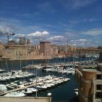 Photo taken at Novotel Marseille Vieux Port by Audrey G. on 6/12/2012