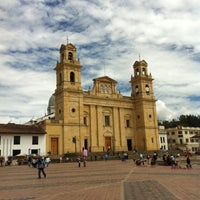 Photo taken at Basílica Nuestra Señora de Chiquinquirá by Diego D. on 3/17/2012