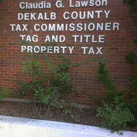 Photo taken at Dekalb County Tax Commissioner by Antwion on 8/16/2012