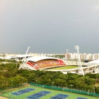 Photo taken at Asian Games Dormitory by Khanittha K. on 8/15/2012