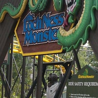 Photo taken at Loch Ness Monster - Busch Gardens by jana m. on 9/2/2012