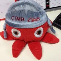 Photo taken at CIMB Bank by Ima M. on 7/2/2012