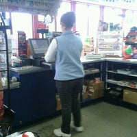 Photo taken at Mobil by Brittany Sue K. on 3/16/2012
