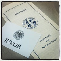 Photo taken at Baltimore County Courts Building by Stacey L. on 8/13/2012