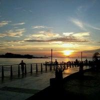 Photo taken at Pantai Losari by Adelina Y. on 4/10/2012