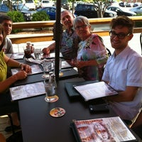 Photo taken at Tyler's Restaurant & Taproom by Nick H. on 6/16/2012