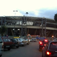 Photo taken at Stadio San Paolo by marco b. on 3/12/2012