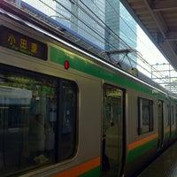 Photo taken at JR 東海道線 東京駅 by Kazuko T. on 8/18/2012