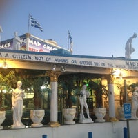 Photo taken at The Mad Greek Cafe by Travis C. on 6/17/2012