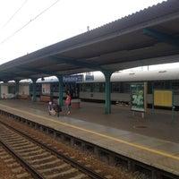 Photo taken at Pardubice hlavní nádraží by Guilhamme B. on 5/10/2012
