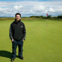 Photo taken at The Jubilee Course St Andrews by John K. on 7/12/2012