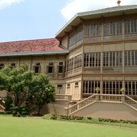 Photo taken at Vimanmek Mansion by Terpin N. on 4/12/2012
