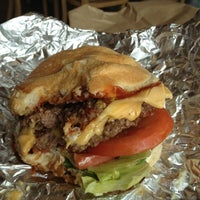 Photo taken at Five Guys by Martha on 8/13/2012
