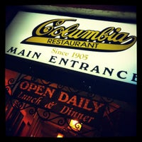 Photo taken at Columbia Restaurant by Angie L. on 2/23/2012