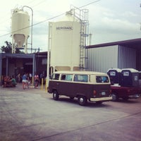 Photo taken at Karbach Brewing Co. by Zach F. on 6/16/2012