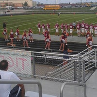 Photo taken at Plainfield North High School by Kevin M. on 8/31/2012