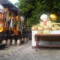 Photo taken at Pura Beji Desa Adat Pecatu by yunie w. on 6/18/2012