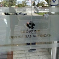Photo taken at Shopping Jardim das Américas by Eduardo A. on 7/9/2012