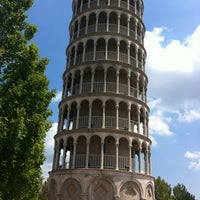 Photo taken at Leaning Tower Of Niles by Matt E. on 7/30/2012