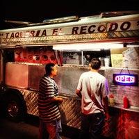 Photo taken at Taqueria El Recodo by Brad H. on 9/1/2012