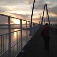 Photo taken at Arthur Ravenel Jr. Bridge by Lori J. on 2/27/2012