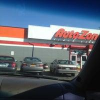 Photo taken at AutoZone by Zebbie J. on 3/30/2012