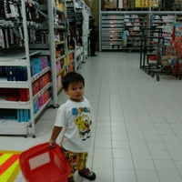 Photo taken at Carrefour by Roosdamayanti G. on 6/24/2012