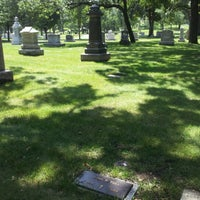 Photo taken at Lakewood Cemetery by Jennifer-Lyn T. on 7/25/2012