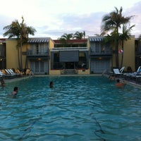 Photo taken at The Lafayette Hotel, Swim Club & Bungalows by Marci S. on 8/17/2012