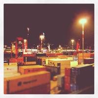Photo taken at Porto di Salerno by Errepi s. on 8/4/2012