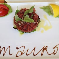 Photo taken at Mauro Ristorante by Zsolti on 7/14/2012