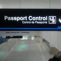 Photo taken at US Customs & Immigration by Jessica S. on 7/7/2012