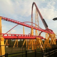 Kings Dominion Intimidator 305 Blackout