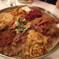Photo taken at Demera Ethiopian Restaurant by Eric D. on 4/16/2012