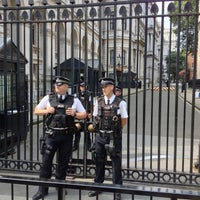 Photo taken at 10 Downing Street by Melville C. on 8/12/2012