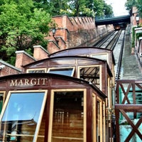 Photo taken at Buda Castle Hill Funicular by Pat P. on 6/28/2012