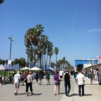 Photo taken at Venice Beach Boardwalk by Brian on 3/24/2012