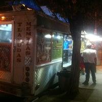 Photo taken at La Oaxaqueña Taco Truck by Evan M. on 7/12/2012