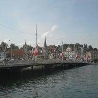 Photo taken at Seebrücke by Kay `the Prince` Jeab K. on 8/14/2012