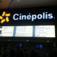 Photo taken at Cinépolis by Roger G. on 2/19/2012