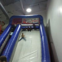 Photo taken at Bounce U by Brian F. on 3/3/2012