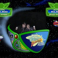 Photo taken at Buzz Lightyear Astro Blasters by Tony J. on 2/25/2012