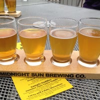 Photo taken at Midnight Sun Brewing Company by Anna H. on 7/3/2012