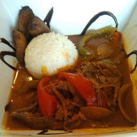 Photo taken at Moros Cuban Restaurant by David N. on 5/5/2012