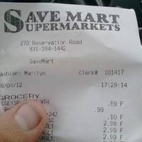 Photo taken at Save Mart by John S. on 9/5/2012