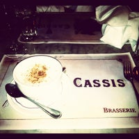 Photo taken at Brasserie Cassis by Krystie B. on 2/13/2012